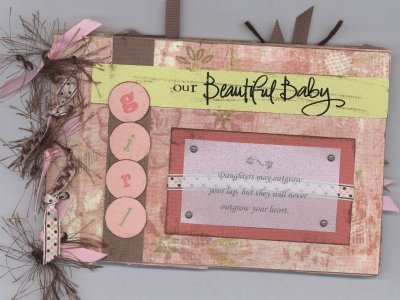 scrapbooking page ideas asparagus mini baby girl album class