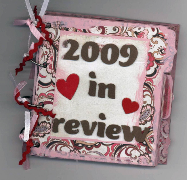 scrapbooking page ideas 2009 in review scrapbooking ideas scrapbook