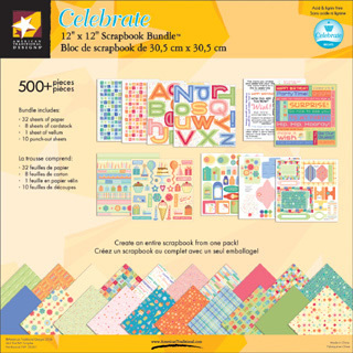 Scrapbook Product: Scrapbook Bundles 12x12 - Celebrate