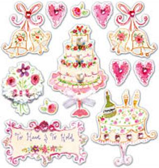 Dena Design - Wedding Icons - Dena Designs Scrapbooking Supplies