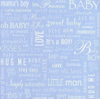 words for baby boy