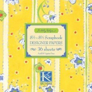 "K /& Company 8.5/"" x 8.5/"" designer paper pads"
