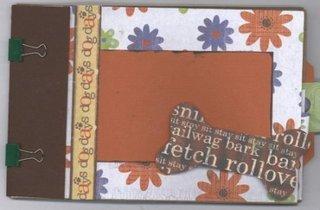 Scrapbook product scrapbooking with love premade paper bag album