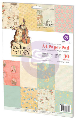 Prima - Bedtime Story Collection - A4 Paper Pad