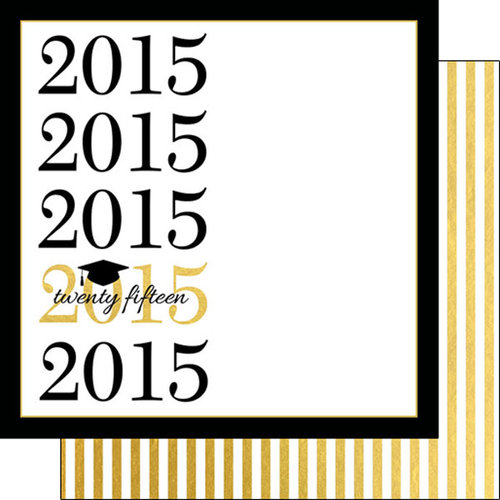 Scrapbook Customs - 12 x 12 Double Sided Paper - Capped 2015