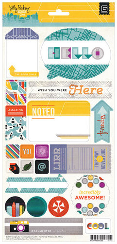 BasicGrey - Second City Collection - Title Stickers