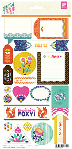 BasicGrey - Grand Bazaar Collection - Title Stickers