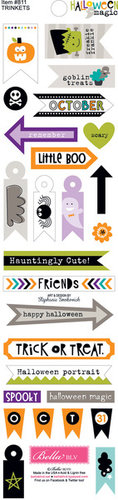 Bella Blvd - Halloween Magic Collection - Cardstock Stickers - Trinkets