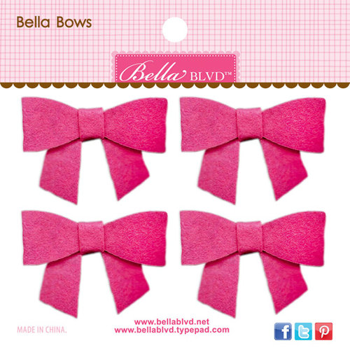 Bella Blvd - Color Chaos Collection - Bella Bows - Punch