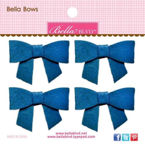 Bella Blvd - Color Chaos Collection - Bella Bows - Blueberry