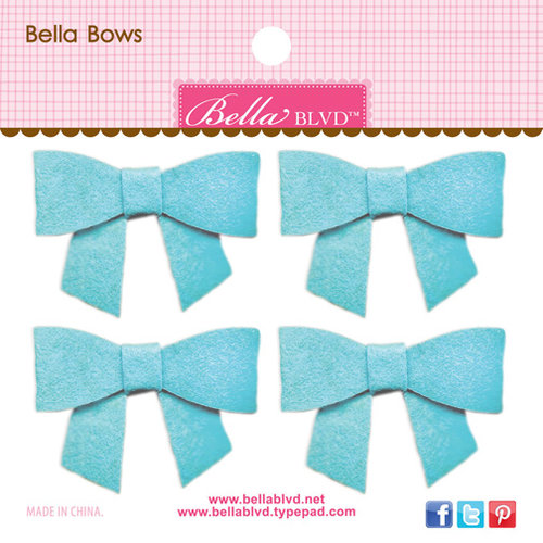 Bella Blvd - Color Chaos Collection - Bella Bows - Saltwater
