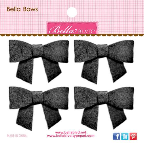 Bella Blvd - Color Chaos Collection - Bella Bows - Oreo Black