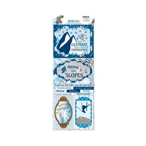 Bo Bunny - Powder Mountain Collection - Cardstock Stickers - Go Big