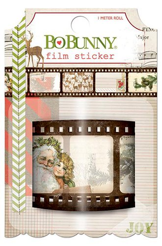 Bo Bunny - Christmas Collage Collection - Film Sticker
