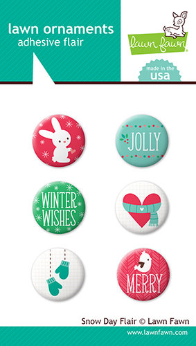 Lawn Fawn - Snow Day Collection - Christmas - Flair